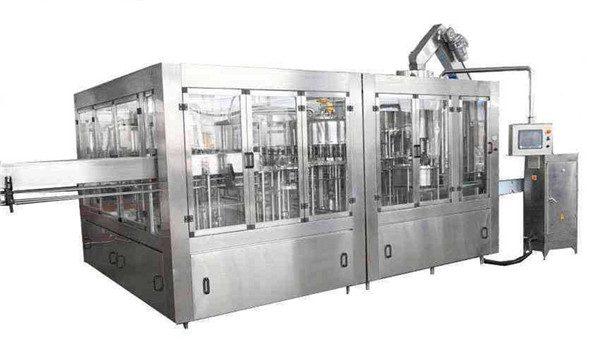 8000BPH自動ココナッツオイル充填機ライン