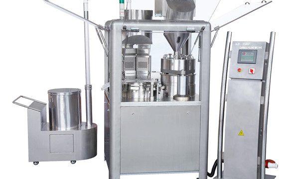 粉を満たすための自動カプセルの注入口のカプセルの充填機
