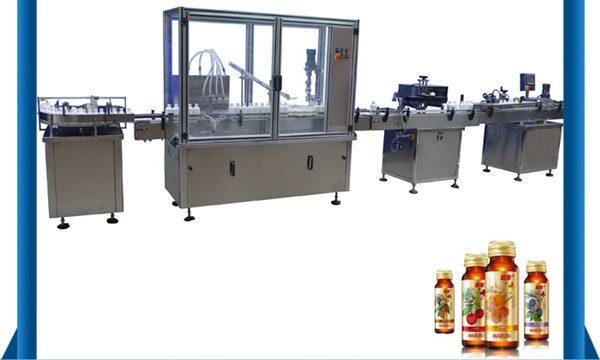 中国サプライヤー自動蜂蜜ボトル液体充填機