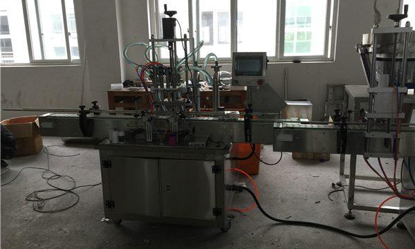 自動ピストン液体充填機50mlから1L