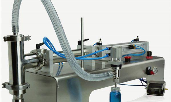 空気圧制御ダブルヘッド潤滑油充填機
