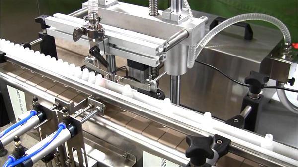 高速自動電子液体ボトル充填機