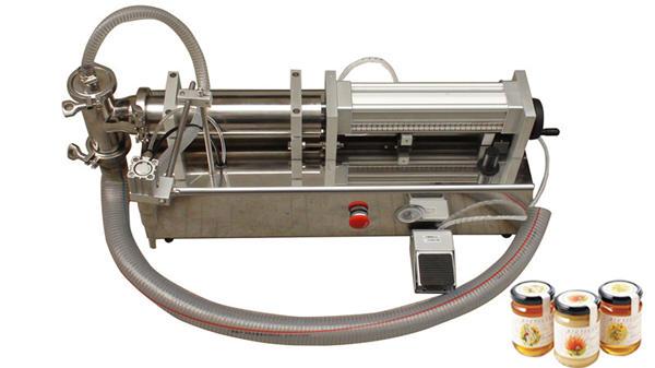 半自動高粘度Lliquidハニー充填機