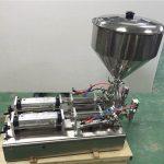 広く使用されているダブルヘッドストロベリージャム充填機