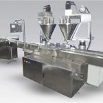 6ヘッド全自動コーヒー充填機パウダー