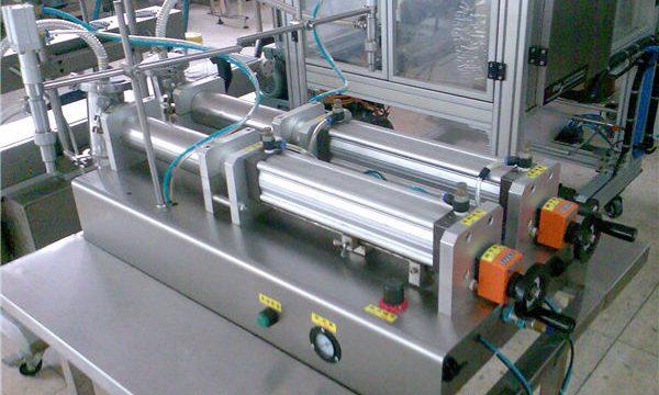 良質の二重ノズルの液体のシャンプーの充填機