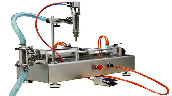 ダブルヘッド空気圧クリーム充填機100-1000ml