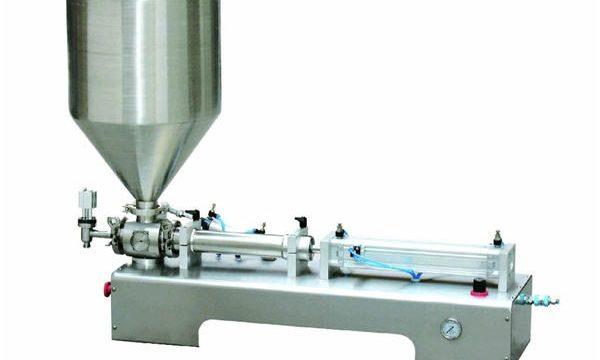 半自動カラミンローションペースト/液体ボトルピストン充填機